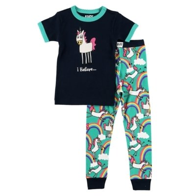 I Believe Unicorn Kids - PJ Set