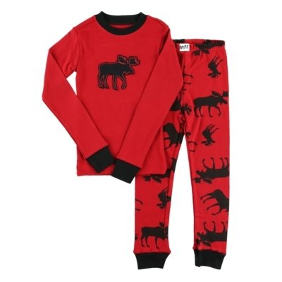 Classic Moose Red - PJ Set