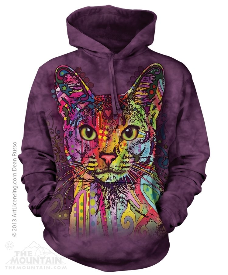 Hoodie Abyssinian Cat