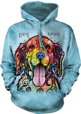 Hoodie Dog Is Love