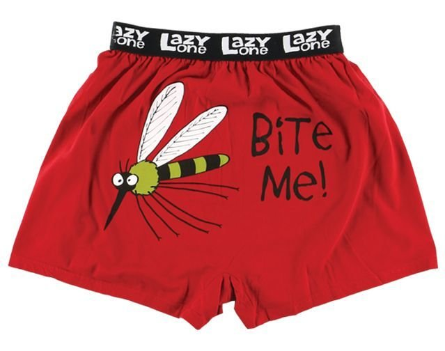 Bite Me Mosquito Boxer Shorts