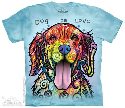 T-Shirt Dog is Love Kids