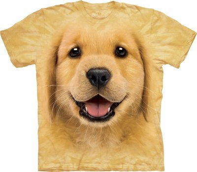 T-Shirt Golden Retriever Puppy Kids