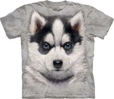 T-Shirt Siberian Husky Puppy Kids