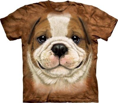 T-Shirt Bulldog Puppy Kids