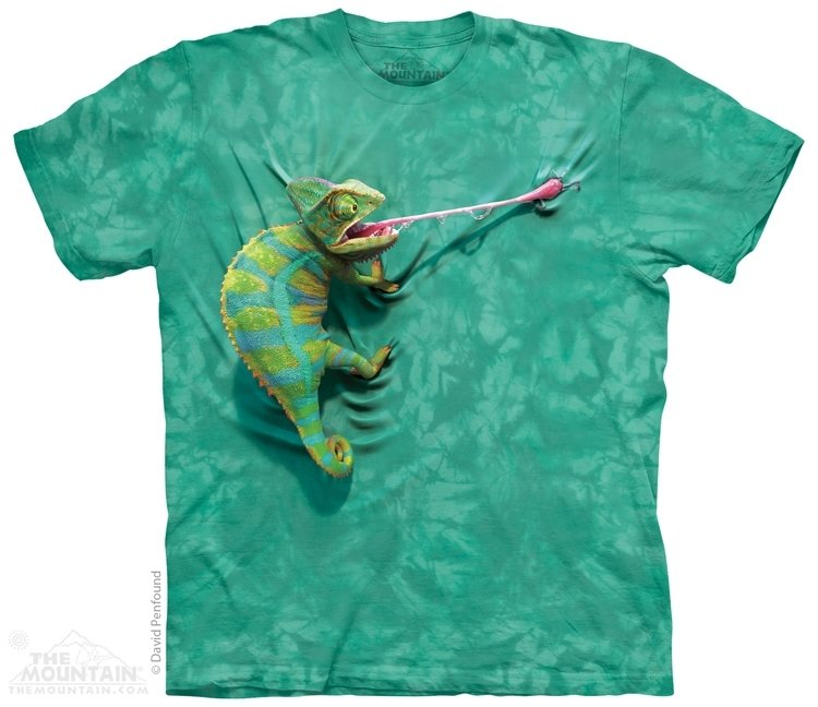 T-Shirt Chameleon Kids
