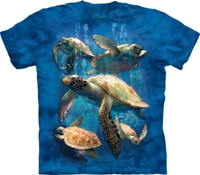 T-Shirt Sea Turtle Family Kids
