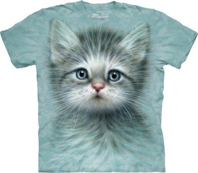 T-Shirt Blue Eyed Kitten Cats