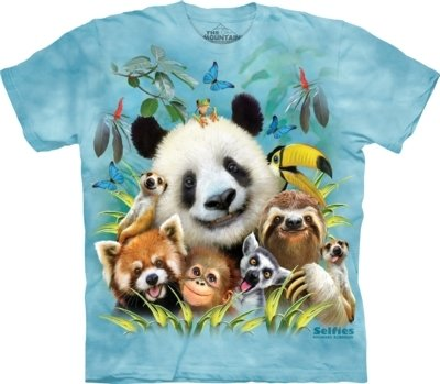 T-Shirt Zoo Selfie Kids
