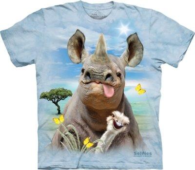 T-Shirt Rhino Selfie Kids