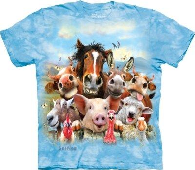 T-Shirt Farm Selfie Kids