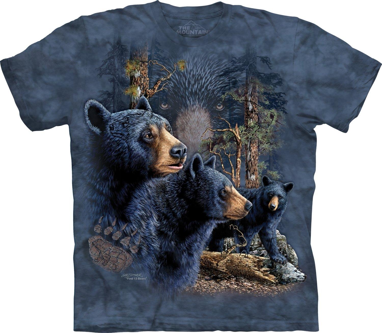 T-Shirt Find 13 Black Bears Kids