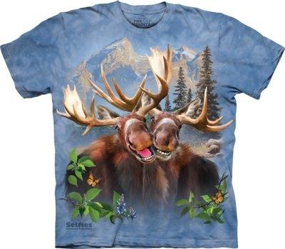 T-Shirt Moose Selfie Kids