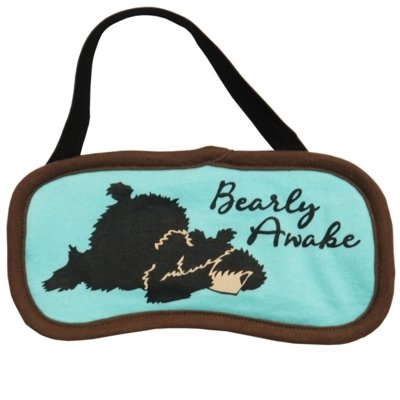 Bearly Awake Asleep Sovmask
