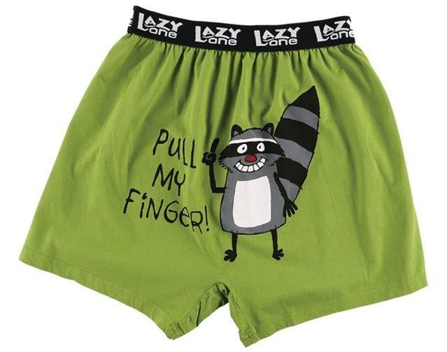 Pull My Finger Boxer Shorts