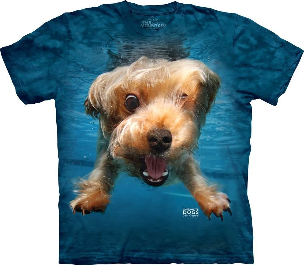 T-Shirt Underwater Dog Brady