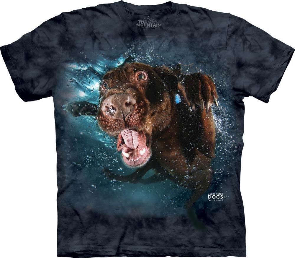 T-Shirt Underwater Dog Hodge