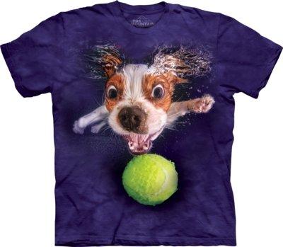 T-Shirt Underwater Dog Monty
