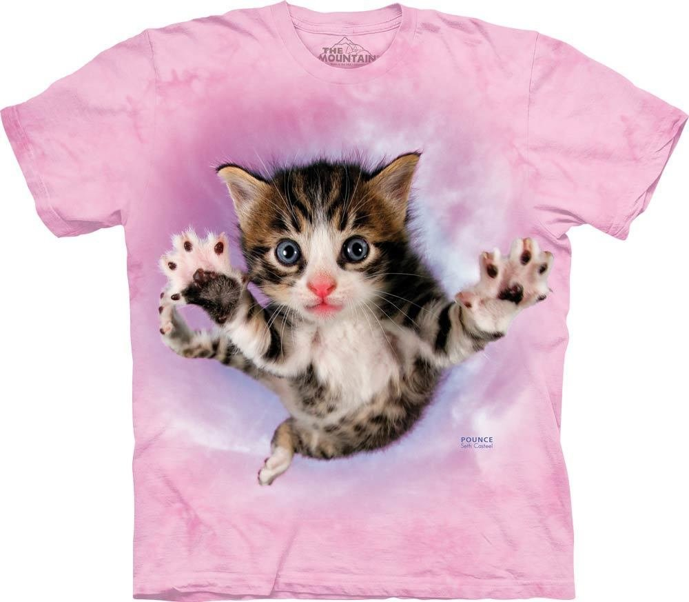 T-Shirt Pounce Chicken Cat