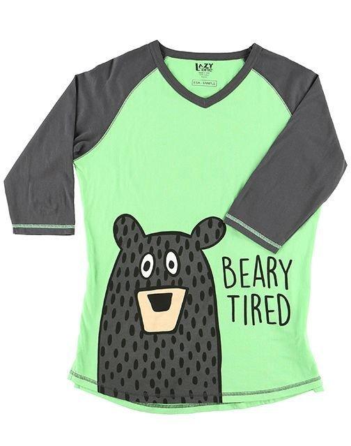 Pyjamastopp Beary Tired Fit