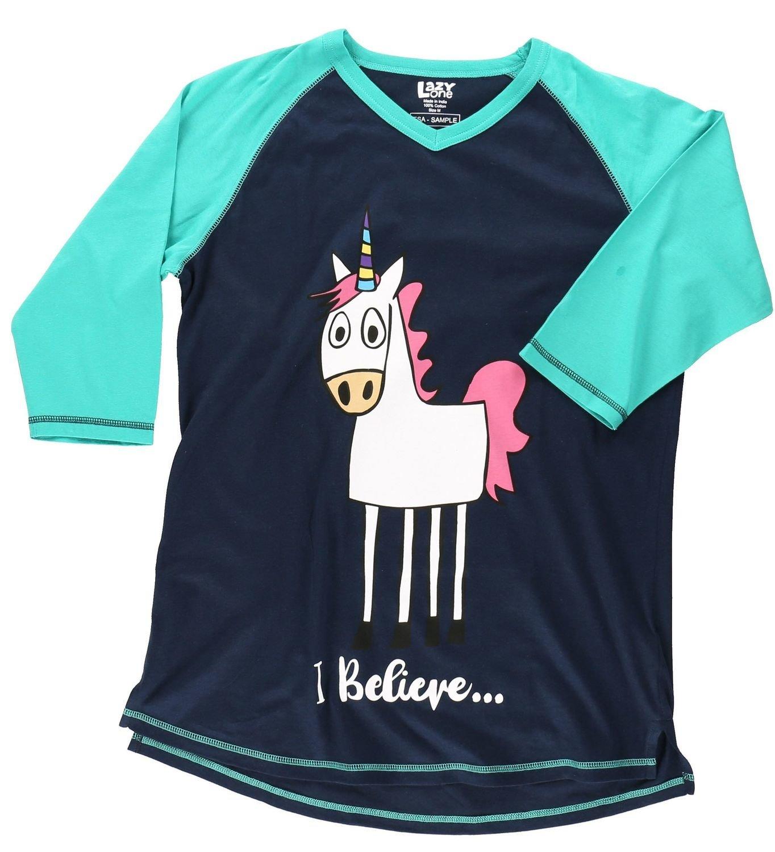Pyjamastopp Believe Unicorn Fit