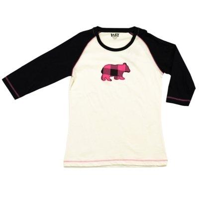 Pyjamastopp Bear Plaid Fit