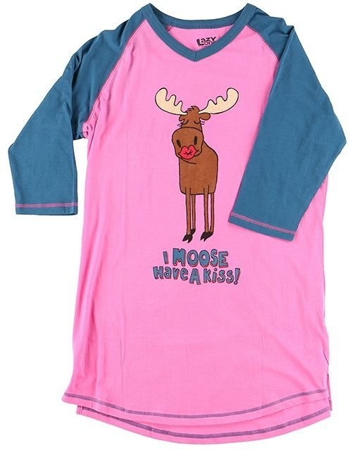Pyjamastopp Moose Kiss Fit