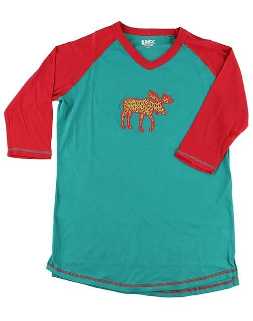 Pyjamastopp Pattern Moose Fit