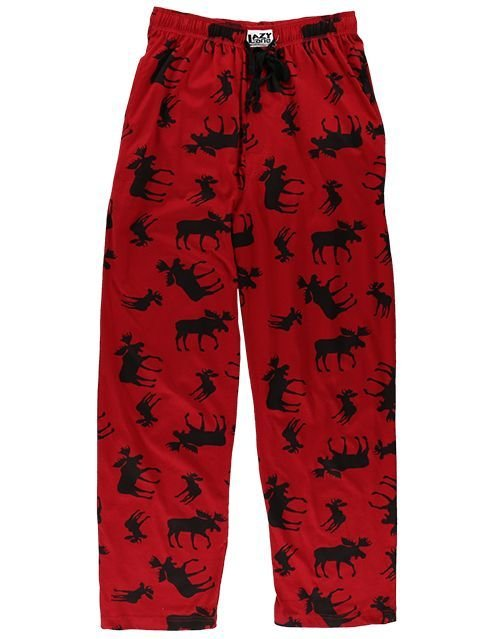 Pyjamasbyxor Classic Moose Red