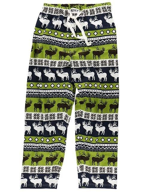 Pyjamasbyxor Elk Fair Isle
