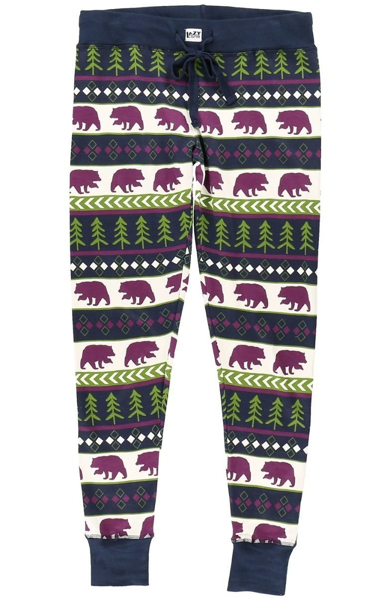 Pyjamasleggings Bear Fair Isle
