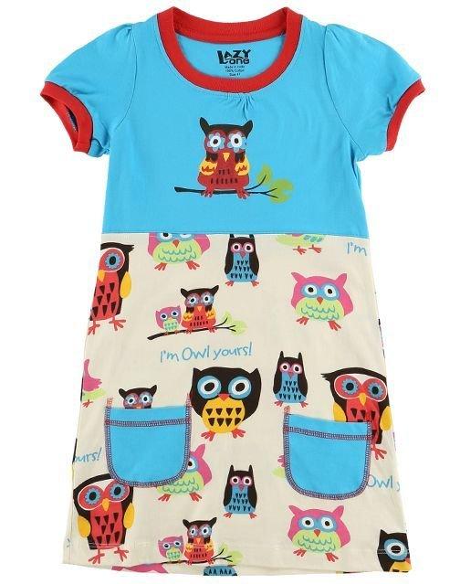 I'm Owl Yours T-Shirt-Klänning