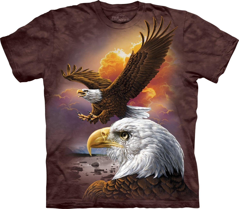 T-Shirt Eagle & Clouds