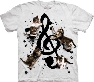 T-Shirt Music Kittens