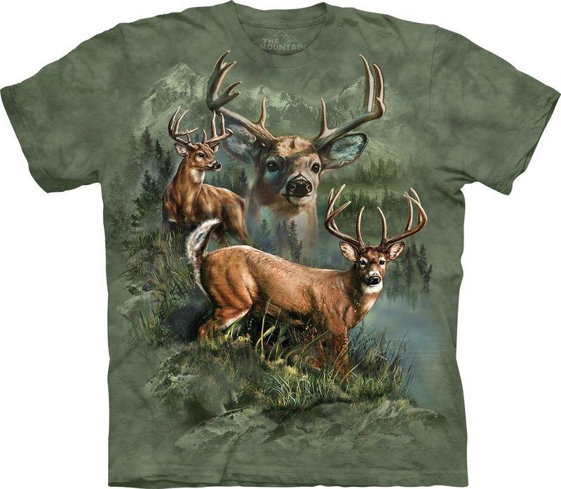 T-Shirt Deer Collage