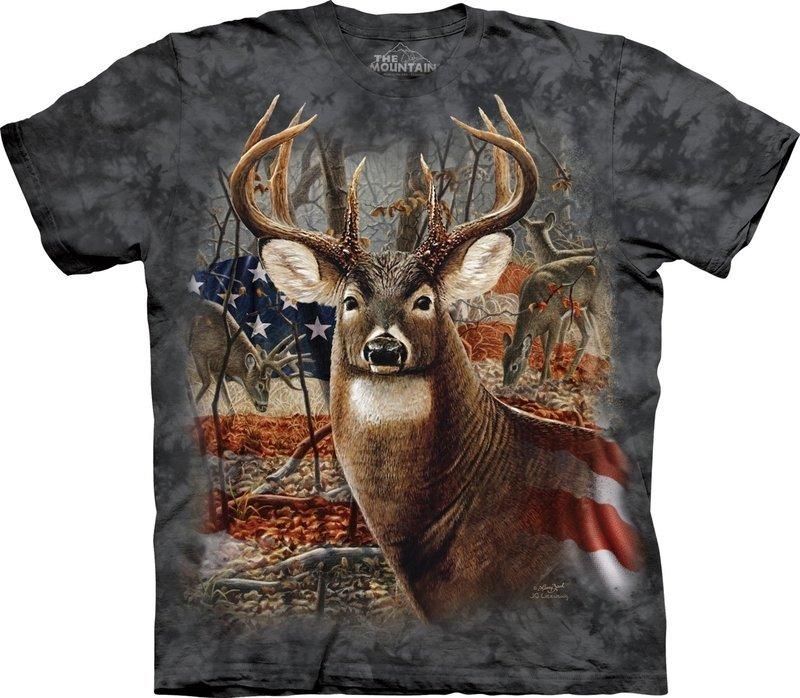 T-Shirt Patriotic Buck