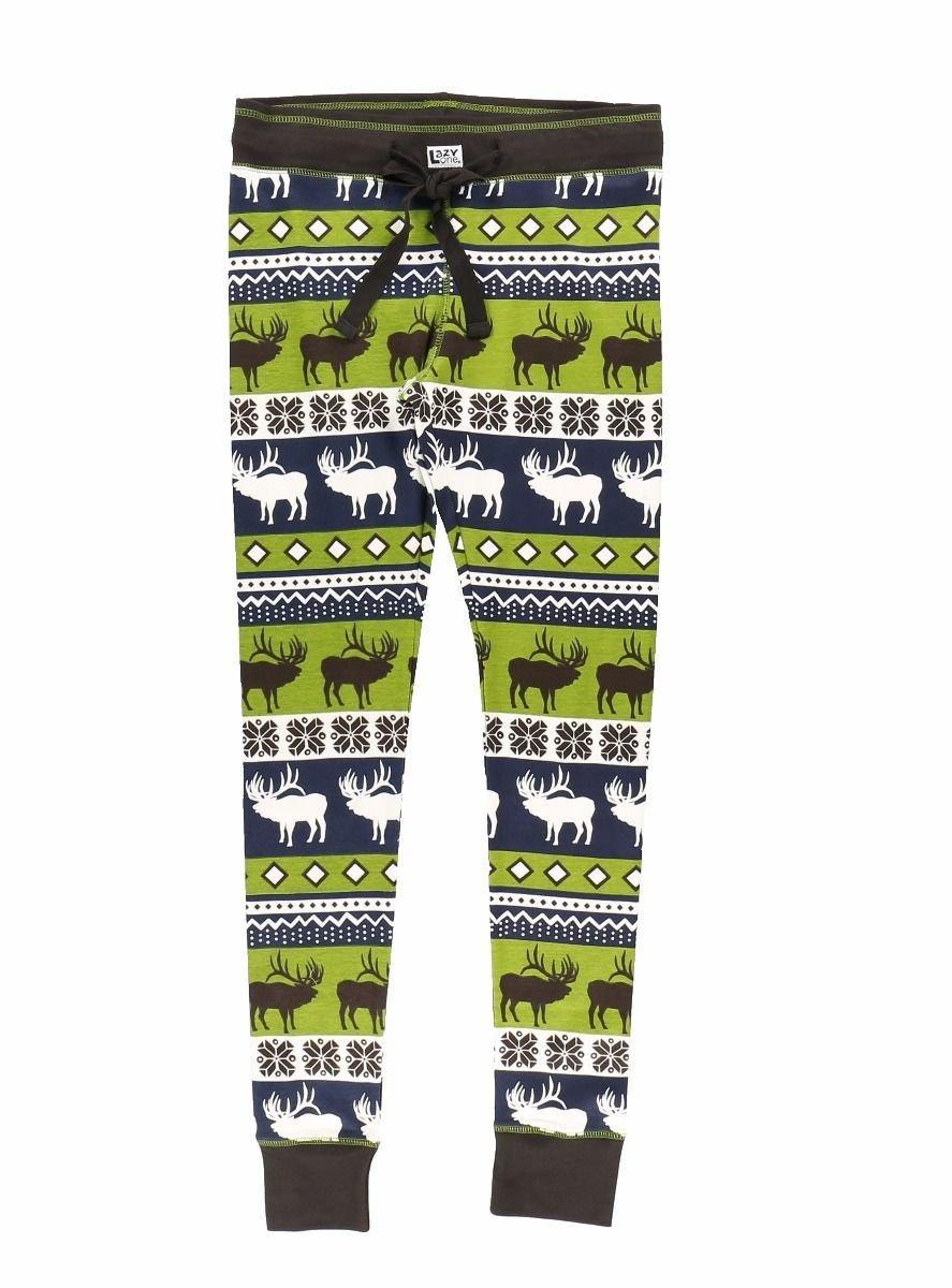 Pyjamasleggings Elk Fair Isle