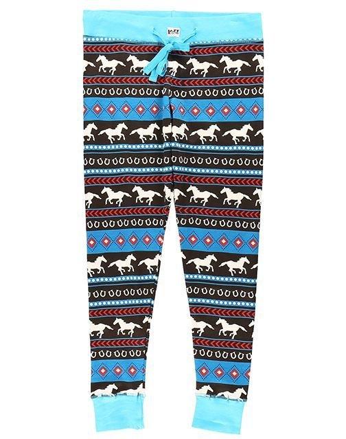 Pyjamasleggings Horse Fair Isle