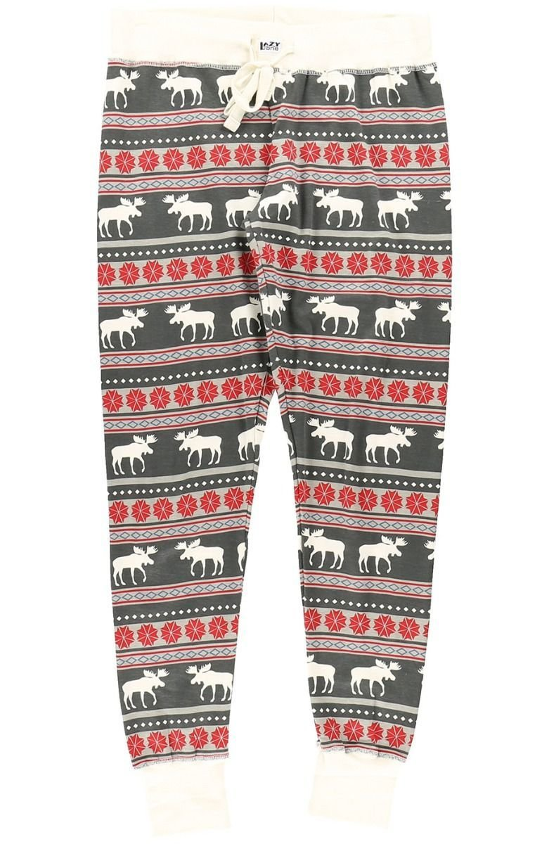 Pyjamasleggings Moose Fair Isle