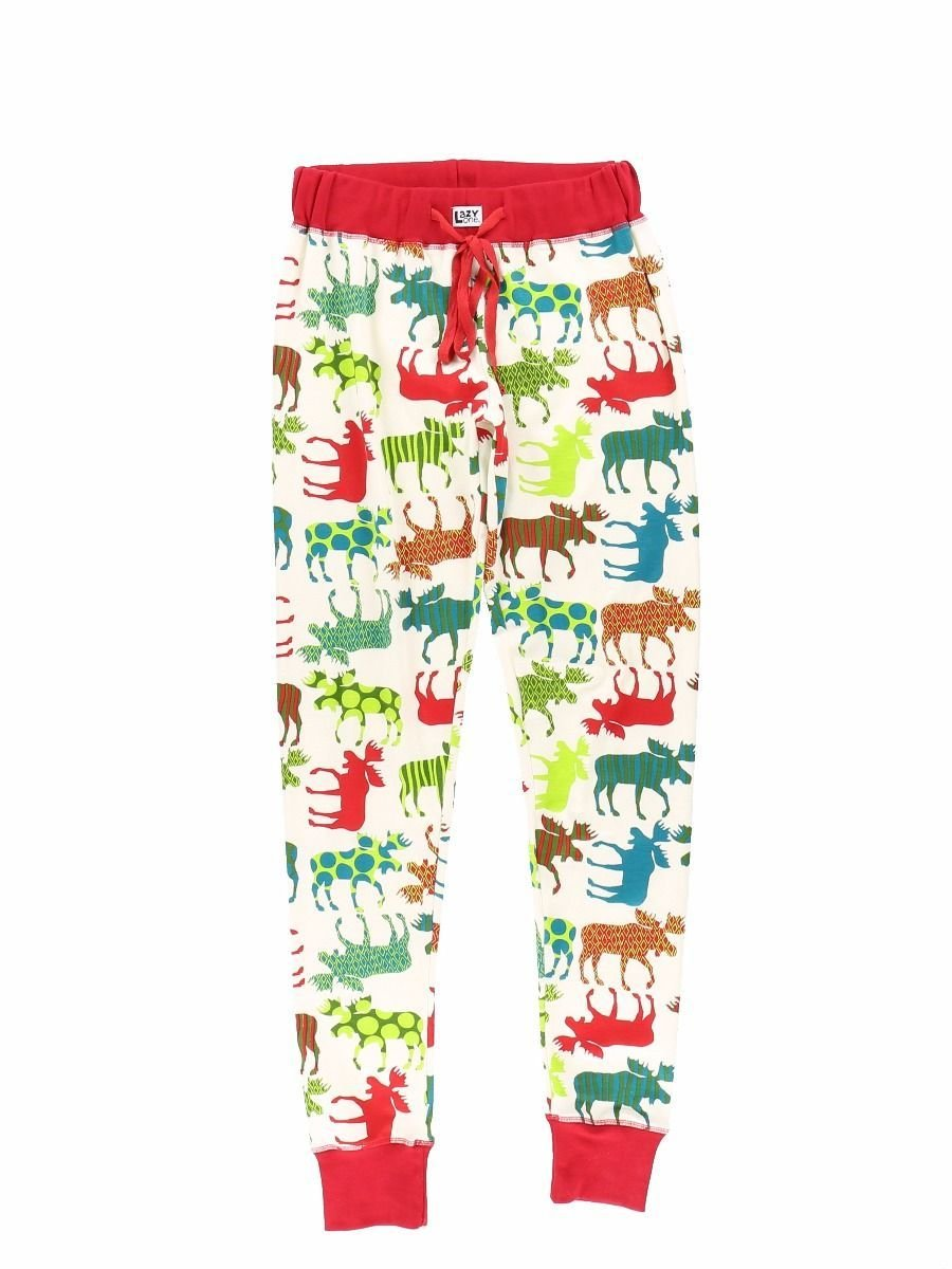 Pyjamasleggings Pattern Moose