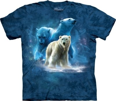 T-Shirt Polar Collage Bear