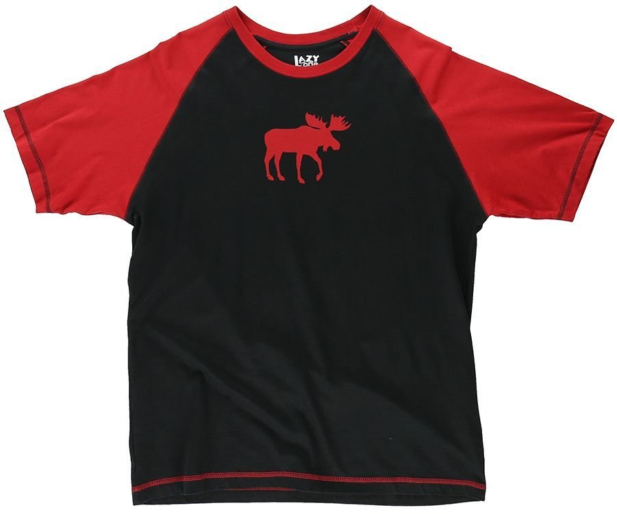 Pyjamastopp Moose Red