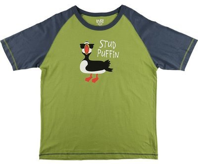 Pyjamastopp Stud Puffin