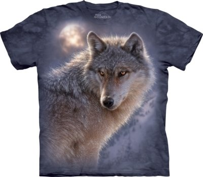 T-Shirt Adventure Wolf
