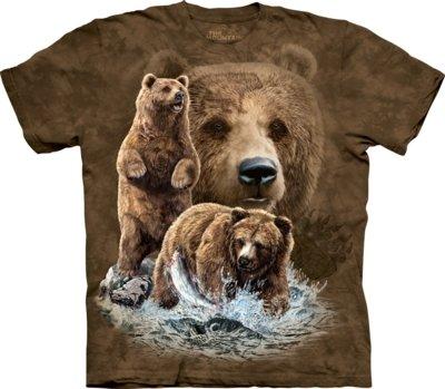 T-Shirt Find 10 Brown Bears