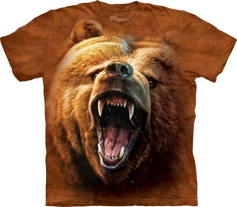 T-Shirt Grizzly Growl