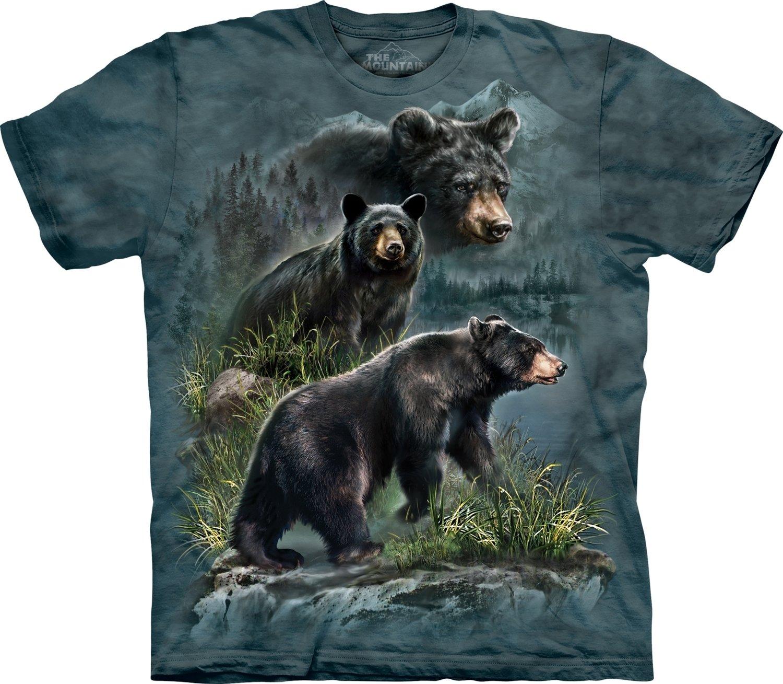T-Shirt Journey Three Black Bears