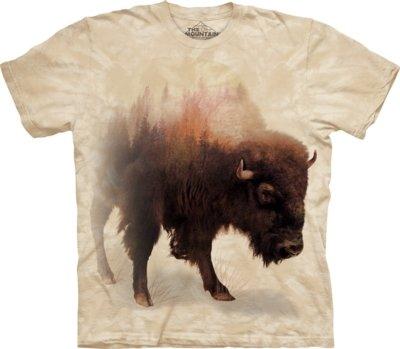 T-Shirt Bison Forest