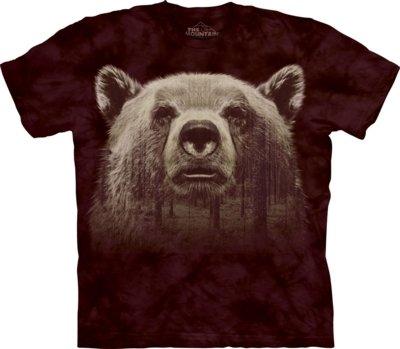 T-Shirt Bear Face