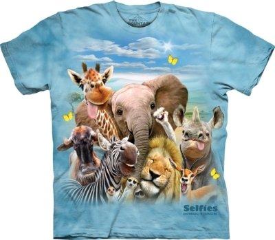 T-Shirt African Selfie
